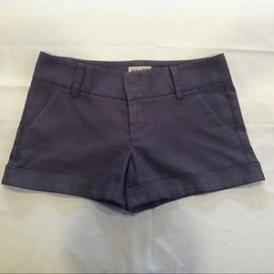 Alice + Olivia for Scoop NYC Twill Shorts sz 8